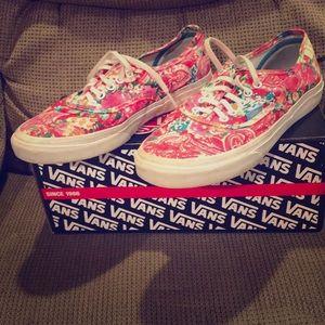 Vans Multi Floral Shoes